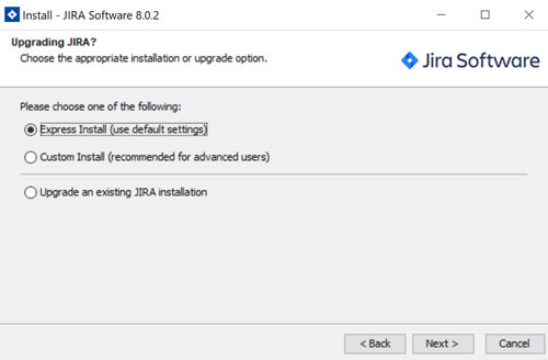 JIRA installieren auf windows