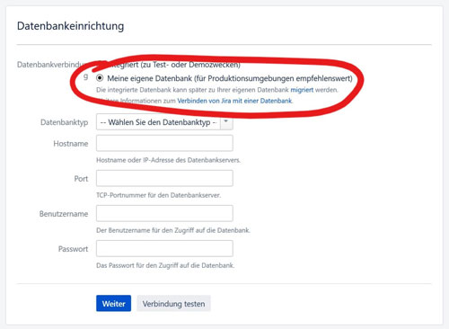 JIRA installieren windows
